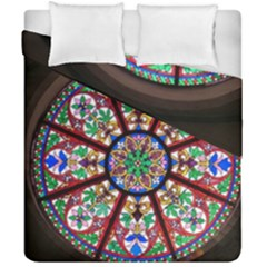 Church Window Window Rosette Duvet Cover Double Side (california King Size)
