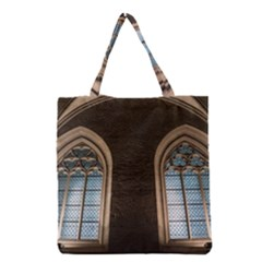 Church Window Church Grocery Tote Bag