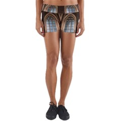 Church Window Church Yoga Shorts