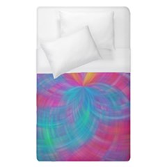 Abstract Fantastic Fractal Gradient Duvet Cover (single Size)
