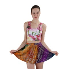 Graphics Imagination The Background Mini Skirt
