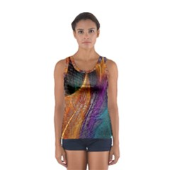 Graphics Imagination The Background Sport Tank Top