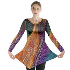 Graphics Imagination The Background Long Sleeve Tunic