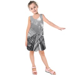 Architecture Skyscraper Kids  Sleeveless Dress