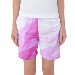 Material Ink Artistic Conception Women s Basketball Shorts