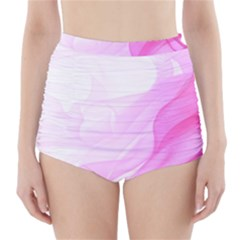 Material Ink Artistic Conception High Waisted Bikini Bottoms