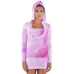 Material Ink Artistic Conception Long Sleeve Hooded T Shirt