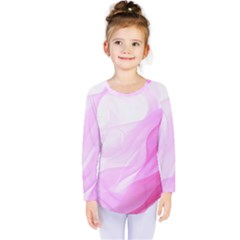 Material Ink Artistic Conception Kids  Long Sleeve Tee