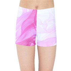 Material Ink Artistic Conception Kids Sports Shorts