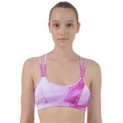 Material Ink Artistic Conception Line Them Up Sports Bra
