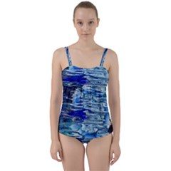 Graphics Wallpaper Desktop Assembly Twist Front Tankini Set