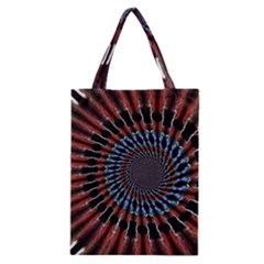 The Fourth Dimension Fractal Noise Classic Tote Bag
