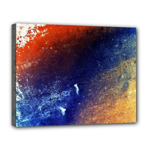 Colorful Pattern Color Course Canvas 14  X 11