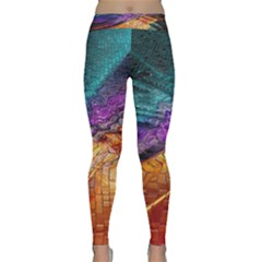 Graphics Imagination The Background Classic Yoga Leggings