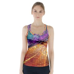 Graphics Imagination The Background Racer Back Sports Top