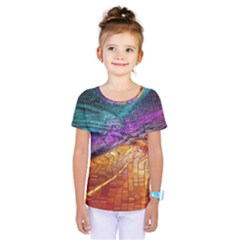 Graphics Imagination The Background Kids  One Piece Tee