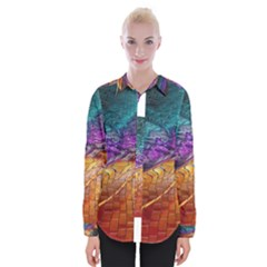 Graphics Imagination The Background Womens Long Sleeve Shirt
