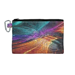 Graphics Imagination The Background Canvas Cosmetic Bag (medium)