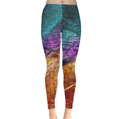 Graphics Imagination The Background Leggings
