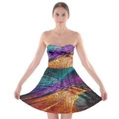 Graphics Imagination The Background Strapless Bra Top Dress