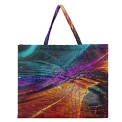 Graphics Imagination The Background Zipper Large Tote Bag