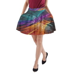 Graphics Imagination The Background A Line Pocket Skirt