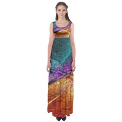 Graphics Imagination The Background Empire Waist Maxi Dress