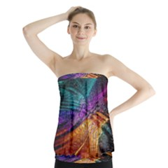 Graphics Imagination The Background Strapless Top