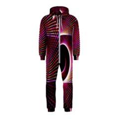 Grid Bent Vibration Ease Bend Hooded Jumpsuit (kids)