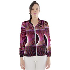Grid Bent Vibration Ease Bend Wind Breaker (women)
