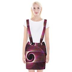 Grid Bent Vibration Ease Bend Braces Suspender Skirt