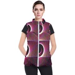 Grid Bent Vibration Ease Bend Women s Puffer Vest
