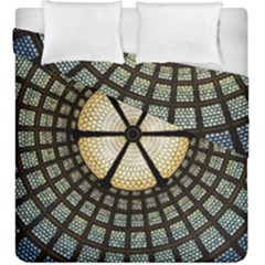 Stained Glass Colorful Glass Duvet Cover Double Side (king Size)