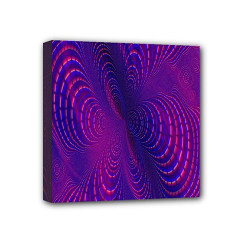 Abstract Fantastic Fractal Gradient Mini Canvas 4  X 4