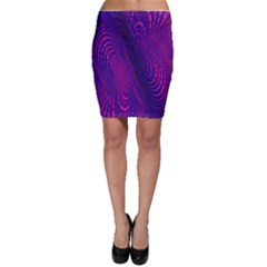 Abstract Fantastic Fractal Gradient Bodycon Skirt