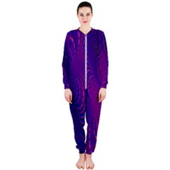 Abstract Fantastic Fractal Gradient Onepiece Jumpsuit (ladies)