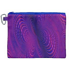 Abstract Fantastic Fractal Gradient Canvas Cosmetic Bag (xxl)