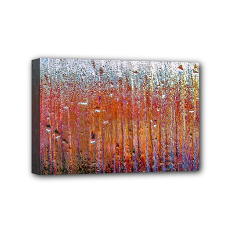 Glass Colorful Abstract Background Mini Canvas 6  X 4