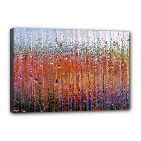 Glass Colorful Abstract Background Canvas 18  X 12