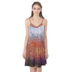 Glass Colorful Abstract Background Camis Nightgown