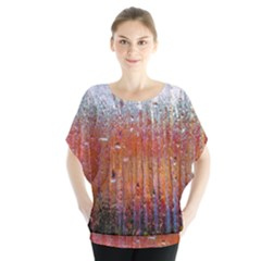 Glass Colorful Abstract Background Blouse