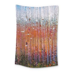Glass Colorful Abstract Background Small Tapestry