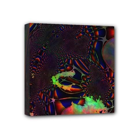 The Fourth Dimension Fractal Mini Canvas 4  X 4