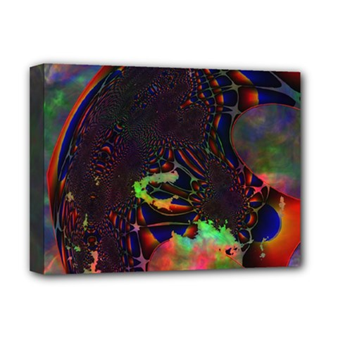 The Fourth Dimension Fractal Deluxe Canvas 16  X 12