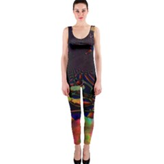 The Fourth Dimension Fractal Onepiece Catsuit