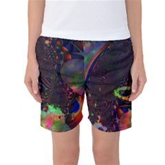 The Fourth Dimension Fractal Women s Basketball Shorts