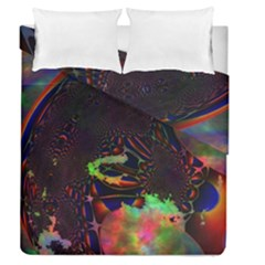 The Fourth Dimension Fractal Duvet Cover Double Side (queen Size)