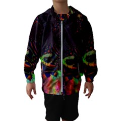 The Fourth Dimension Fractal Hooded Wind Breaker (kids)