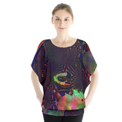 The Fourth Dimension Fractal Blouse