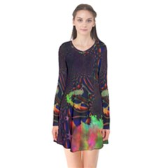 The Fourth Dimension Fractal Flare Dress